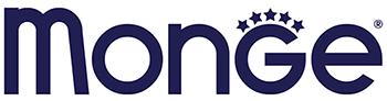 Лого итальянского производителя суперпреимум корма для кошек и собак Монже (Monge)