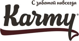 Сухой корм для кошек karmy - лого производителя