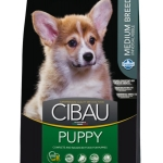 FARMINA. Cibau. Полнорационный и сбалансированный корм для щенков средних пород, беременных и кормящих собак. 0,8 кг