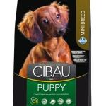 FARMINA. Cibau. Полнорационный и сбалансированный корм для щенков мелких пород, беременных и кормящих собак. 2,5 кг