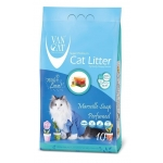 Van Cat. С ароматом Марсельского мыла. Наполнитель комкующийся. 5 кг.