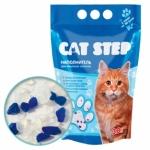 Cat Step. Наполнитель силикагелевый. 3,8 л.