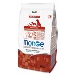 Monge. Dog Speciality Puppy&Junior. Корм для щенков всех пород, ягненок с рисом и картофелем. 0,8 кг
