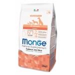 Monge. Dog Speciality. Корм для собак всех пород, лосось с рисом. 2,5 кг