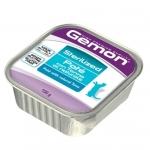 Gemon. Консервы для стерилизованных кошек, паштет тунец. 0,1 кг