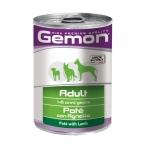 Gemon. Консервы для собак, паштет ягненок. 0,4 кг
