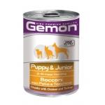 Gemon. Консервы для щенков, кусочки курицы с индейкой. 0,415 кг