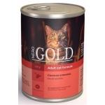 Консервы Nero Gold с свежей олениной 0,41 кг