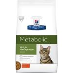 Хиллс. Корм для кошек. Диета. Metabolic. Коррекция веса. 1,5 кг.