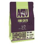 AATU FOR CATS. Корм для кошек. Беззерновой. Утка 1 кг.