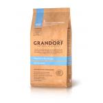 Grandorf. Белая рыба с рисом для взрослых собак всех пород. 1 кг.
