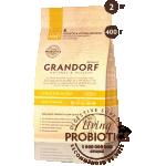 Grandorf. 4 вида мяса с бурым рисом для стерилизованных кошек. 0,4 кг.