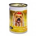 NERO GOLD. Консервы для собак. Кролик и Оленина. 1,25 кг.