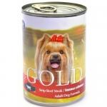 NERO GOLD. Консервы для собак. Говяжьи отбивные. 1,25 кг.