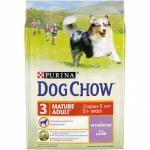 Dog Chow. Для собак старше 5 лет. Ягненок. 2,5 кг