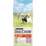 Dog Chow. Для собак старше 5 лет. Ягненок. 14 кг