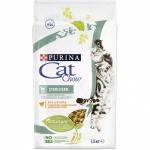 Cat Chow. Для стерилизованных кошек. Домашняя птица. 1,5 кг