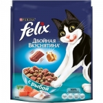 Felix. Для кошек. Двойная вкуснятина. Рыба. 0,3 кг