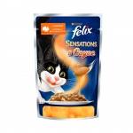 Felix. Паучи. Для кошек. Индейка в соусе со вкусом бекона. 0,085 кг