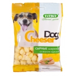 Titbit. Сырные шарики CheeserDog со вкусом курицы