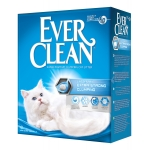 Ever Clean. Extra strong clumping unscented. Наполнитель комкующийся без ароматизатора. 6л.