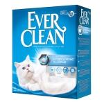 Ever Clean. Extra strong clumping unscented. Наполнитель комкующийся без ароматизатора. 6л.