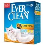 Ever Clean. Less trail. Наполнитель комкующийся без ароматизатора. 6л.