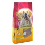 NERO GOLD. Корм super premium для взрослых собак с курицей и рисом.Adult. 2,5 кг