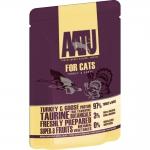 AATU. Паучи для кошек. Индейка и гусь. 0,085кг