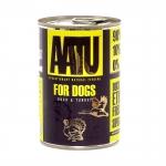 AATU. Консервы для собак Утка и Индейка. 0,4кг
