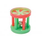 Каскад. Барабан с  колокольчиком пластик, 4 см