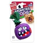 "GiGwi. Monster Rope. Игрушка для собак ""Монстр"" с пищалкой."