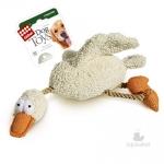 """GiGwi. Игрушка для собак """"Утка с пищалкой""""."""