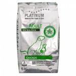 Platinum Корм для взрослых собак Курица 5кг