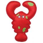 """Kong. Belly Flops. Игрушка для собак """"Лобстер"""", 21х9 см."""