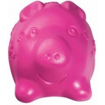"""Kong. Tuff'n Lite. Игрушка для собак """"Свинка большая"""", 10 см."""