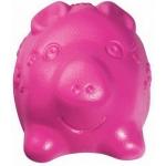 """Kong. Tuff'n Lite. Игрушка для собак """"Свинка малая"""", 7 см."""