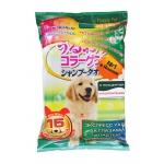 Earth Pet. Шампуневые полотенца для экспресс-купания без воды. Для крупных собак. 15шт.