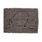 Дерти Дог Доормат. Коврик для кошек супервпитывающий, серый, размер S 40х58 см