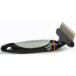 Beeztees. Profur Cyrry Comb Double. Расческа-Триминг двухрядный, редкие зубья, 15 см