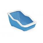 MPS. Туалет-лоток  NETTA c рамкой открытый. Голубой.