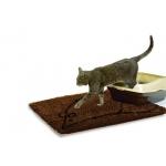 Дерти Дог Доормат. Коврик для кошек супервпитывающий, серый, размер М, 51х79 см
