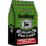 ZOORING. Корм для взрослых собак. Телятина и Рис. 25/13. 10 кг