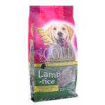NERO GOLD. Корм super premium для взрослых собак с ягненком и рисом. Adult. Lamb&Rice 23/10. 2,5 кг