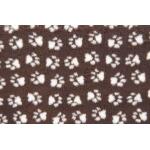 ProFleece. Коврик меховой, шоколад/крем. 1х1,6 м