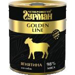 Консервы Четвероногий гурман для собак Golden ягненок в желе 340 гр