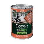 Консервы Monge BWild c индейкой, тыквой и кабачками 0,4 кг