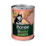 Консервы Monge BWild c лососем, тыквой и кабачками 0,4 кг