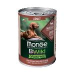 Консервы Monge BWild c ягненком, тыквой и кабачками 0,4 кг