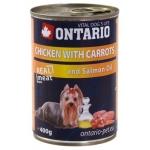 Консервы Ontario с курицей и морковью 0,4 кг